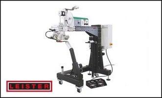 machine à souder les textiles thermoplastiques - leister sapelmeca