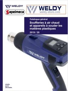 page accueil catalogue weldy leister sapelmeca 2020