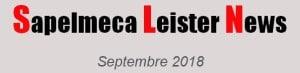 sapelmeca leister newsletter septembre 2018